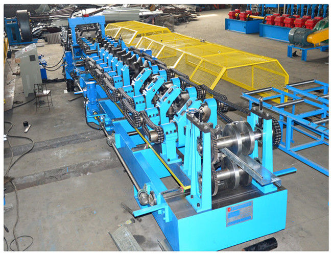 Easy Change CZ Steel  Purlin Profile Making Cold Roll Forming Machine